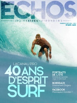Couverture du journal du 09/08/2019