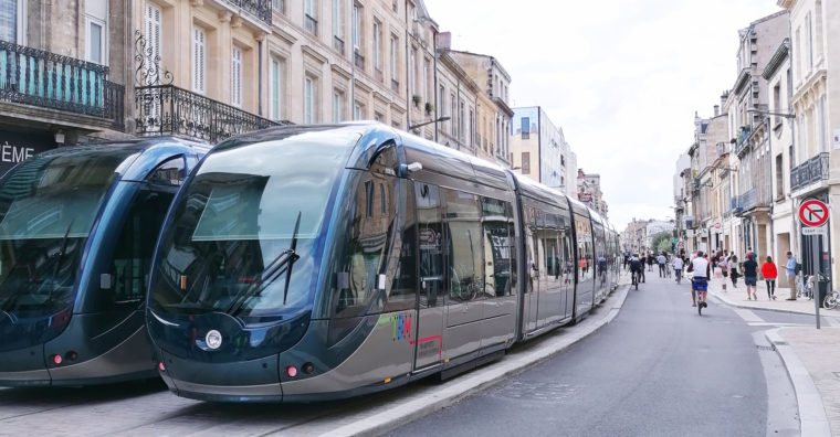 Illustration de l'article Bordeaux : début des essais du tram D