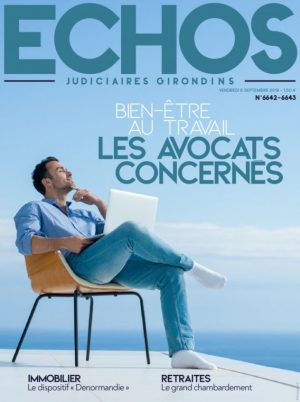 Couverture du journal du 06/09/2019