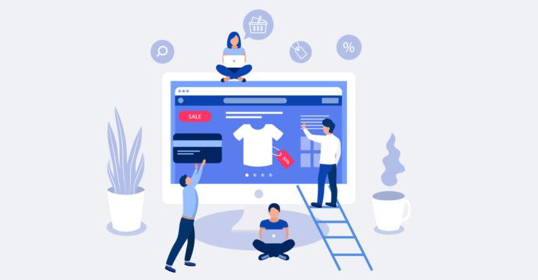 Illustration de l'article E-commerce, l'irrésistible ascension