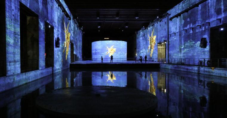 Illustration de l'article Bassins de lumières : la base sous-marine enluminée