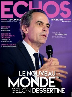 Couverture du journal du 25/09/2020