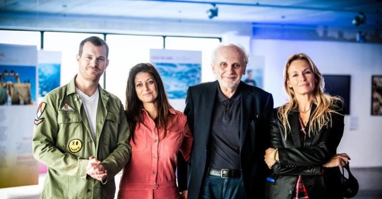 Rodolphe Guignard, Géraldine Parodi, Norbert Fradin et Estelle Lefébure