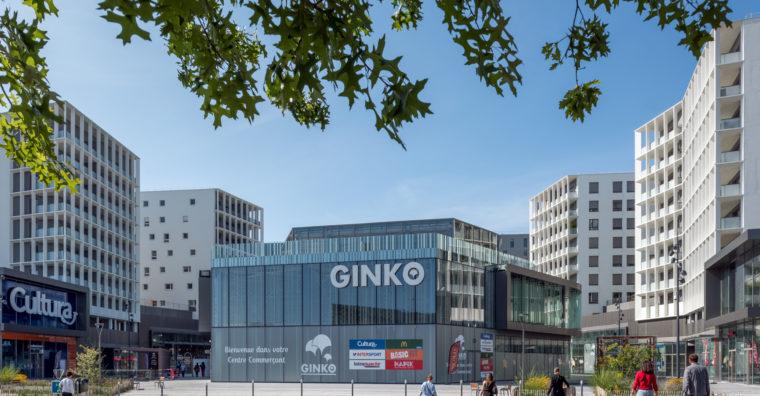 Ginko nouveau centre commerçant Bordeaux