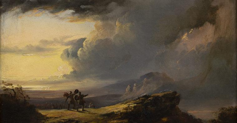 Illustration de l'article Un mois, une œuvre au Musée des Beaux-arts de Bordeaux : Sublime fulgurance