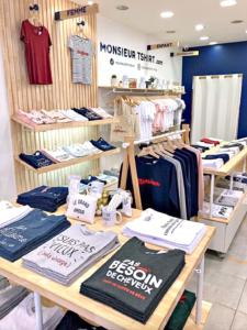 Monsieur Tshirt boutique