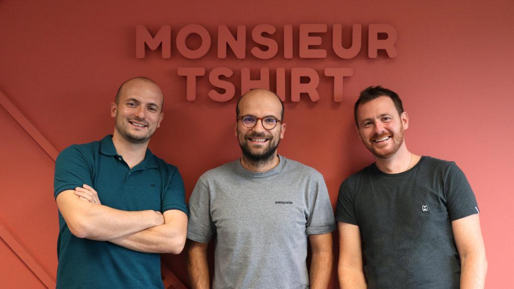 Monsieur Tshirt Arnaud Péré, Vincent Péré, Simon Cagna