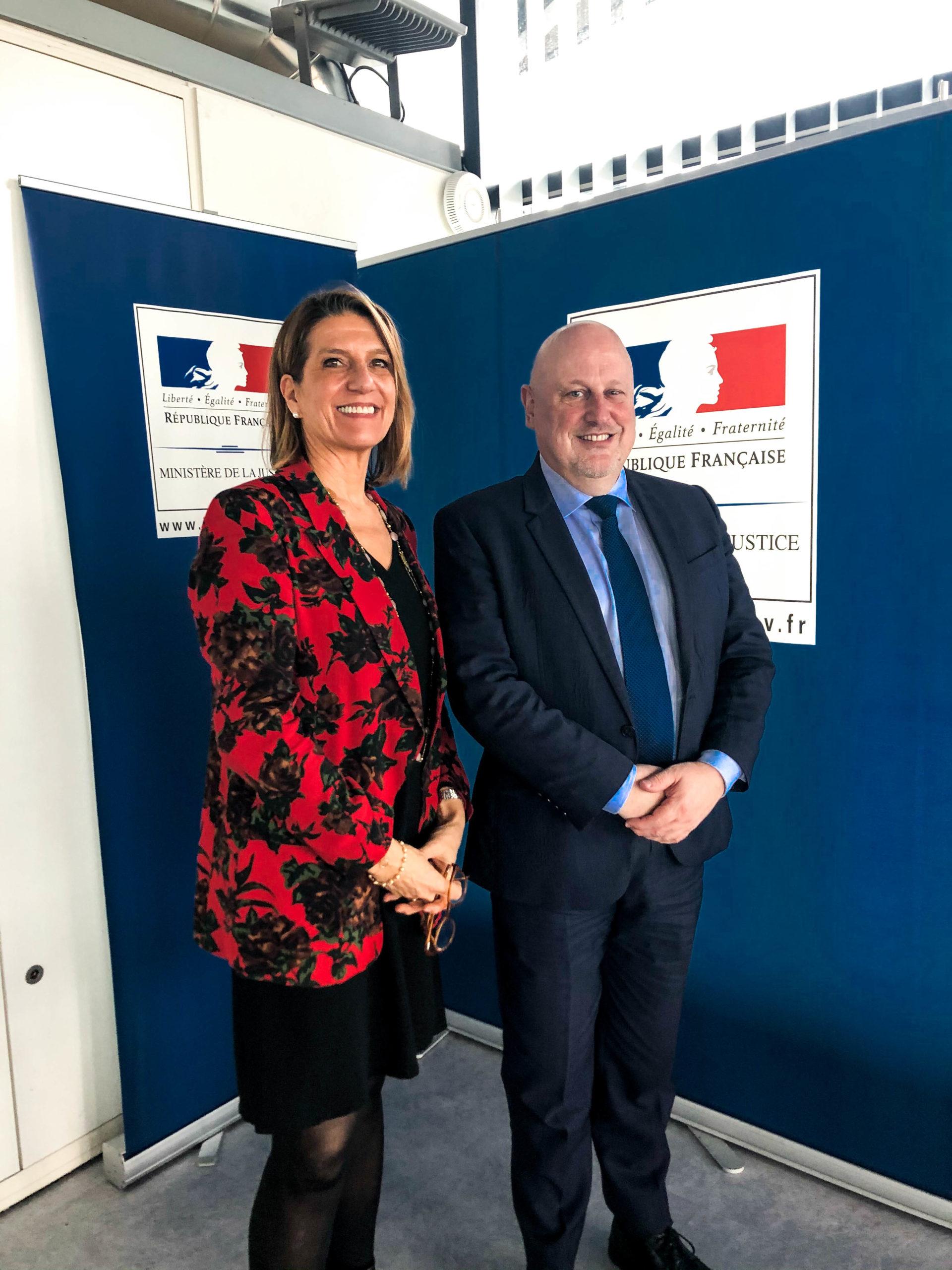 Frédérique Porterie et Éric Ruelle