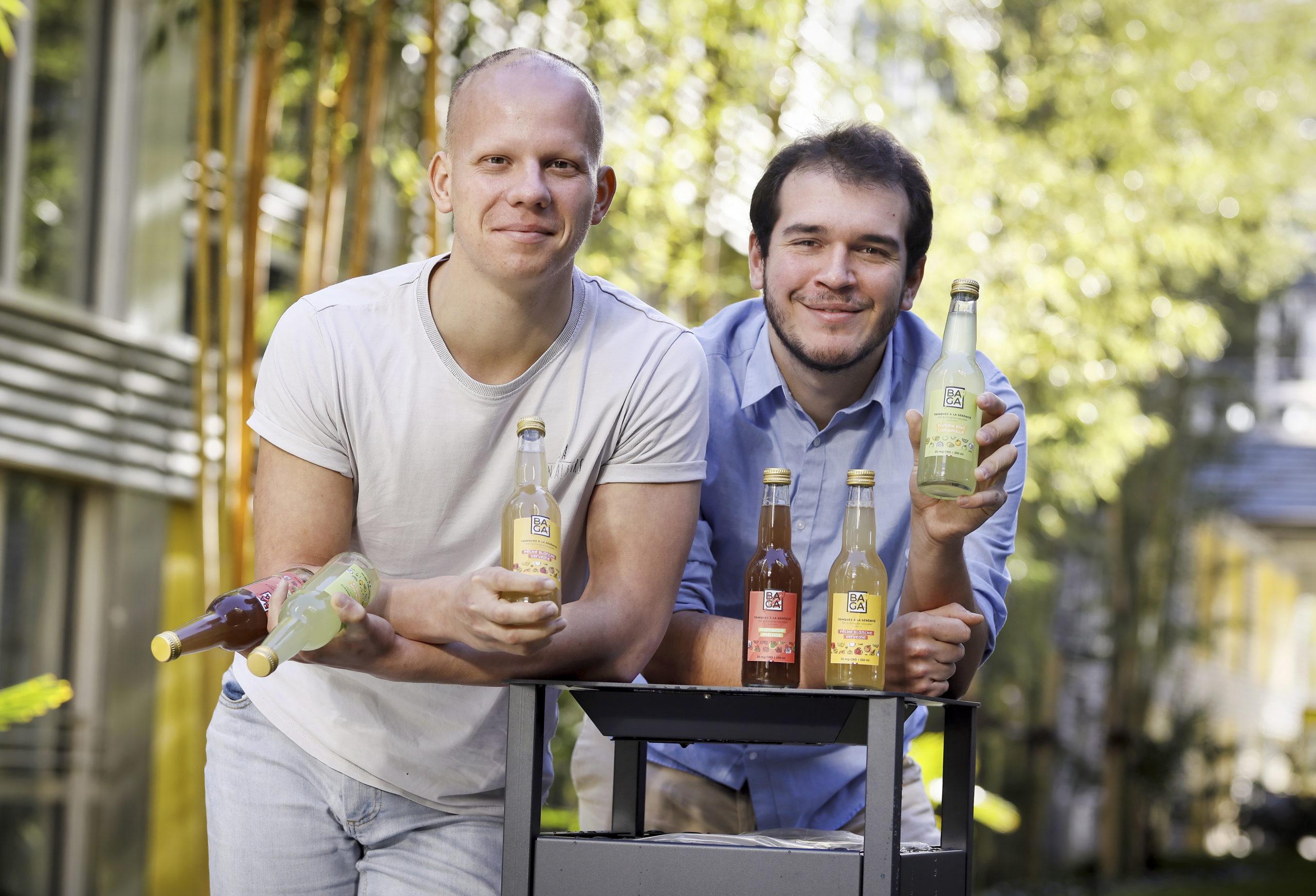 Gaspard Duval et Antoine Grenier CBD