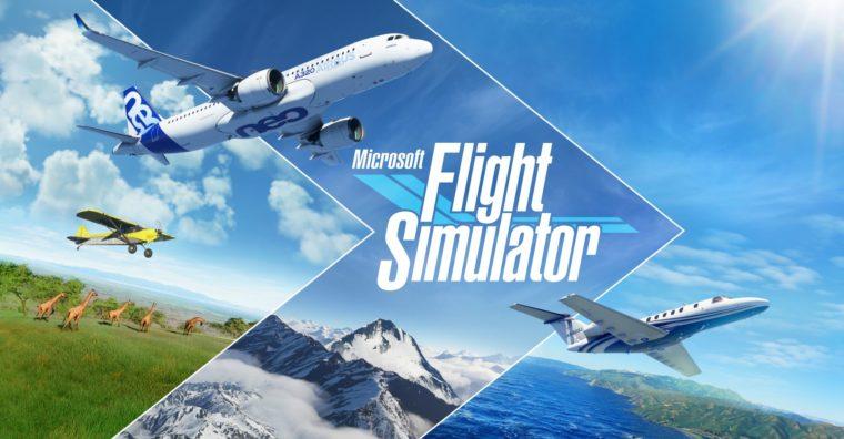 Illustration de l'article Jeu vidéo : Microsoft Flight Simulator et Asobo sacrés aux pégases