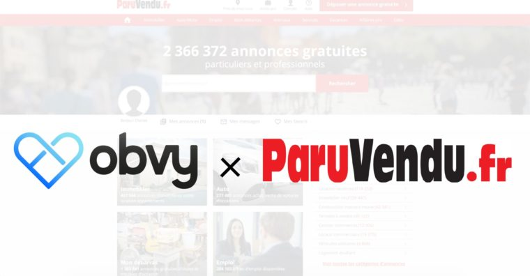 Illustration de l'article Paruvendu.fr se transforme en marketplace avec Obvy