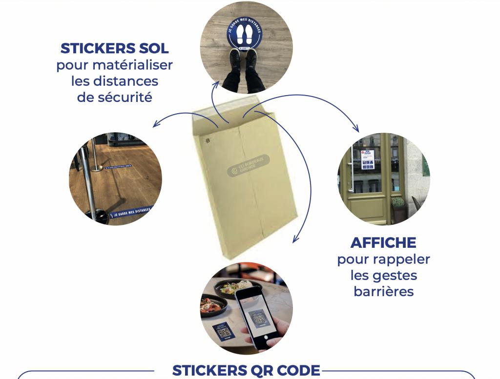 2000 kits de redémarrage pour soutenir les commerces gironde
