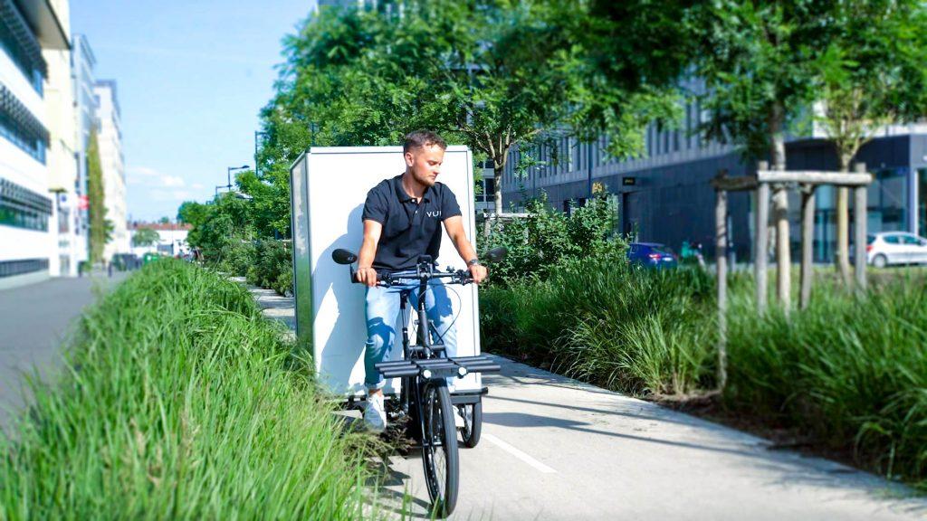 vélos cargos VUF Bikes