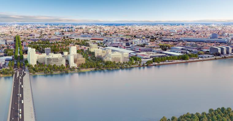 Illustration de l'article [ Bordeaux ] «Quai Neuf», pour une nouvelle entrée de ville